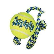 Kong Squeakair Palla con corda giocattolo per cane, Medio