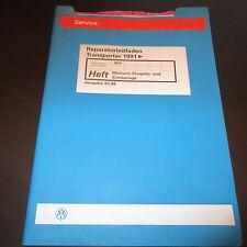 Werkstatthandbuch VW Transporter T4 VR6 Motronic Einspritzanlage Zündanlage AES