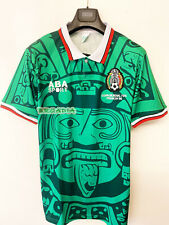 1998 Mexico Home Retro Soccer Football Shirt Jersey Vintage  Edition