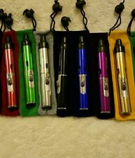 3x Windproof Butane Torch Lighter| U Choose Color Click n Vape w/Pouch-Ship Free