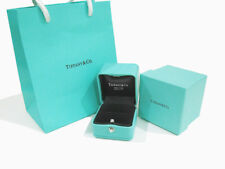 Tiffany & Co Presentation Blue Leather Engagement Wedding Ring Box w/ Outer Case