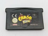 Genuine Game Boy Advance GBA Crash Bandicoot XS Cartridge Only - Free P&P