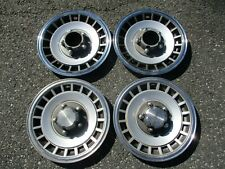 Genuine 1978 to 1996 Ford Bronco F150 hubcaps for 15 inch steel wheel