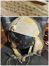 Us Vietnam '71 Xl Gentex Sph-4 Flight Helicopter Pilot Helmet Visor Assem &Comms