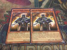 Yu-Gi-Oh Skilled Dark Magician SDSC-EN007!! Common! X2!