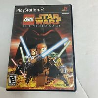 Lego Star Wars PlayStation 2 PS2 Complete Game Free Shipping Good Condition CIB