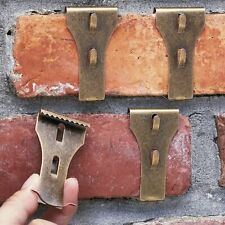 Brick Clips – Brick Hooks for Hanging Decorations and Pictures - Set of 4