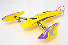 DT H660 Phantom Fiber Glass Yellow Electric RC PNP Racing Boat W/ Motor ESC