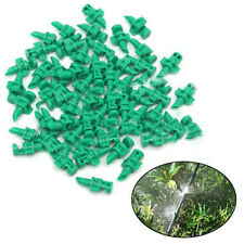 50x Garden Lawn Water Spray Misting Nozzle Sprinkler Micro Irrigation System180º