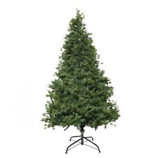 ALEKO Traditional Artificial Indoor Christmas Holiday Green PE/PVC Tree 9 ft