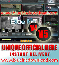 BlueIris Pro v5.xx (Latest) Video Camera Security Software - Full License Life