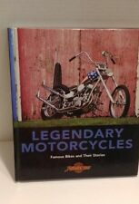 "Legendary Motorcycles ""Famous Bikes & Their Stories"" Hardcover 2009"