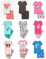 NWT Gymboree Girl Shortie Cotton Pajamas 2pc Set 3 4 5 6 7 8 10 12
