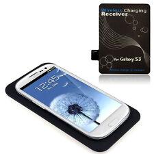 Qi Inalámbrico Cargador Pad + Kit Receptor para Samsung Galaxy S3 III i9300