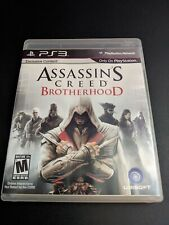 Assassin's Creed Brotherhood Black Label Playstation 3 PS3 LN perfect COMPLETE