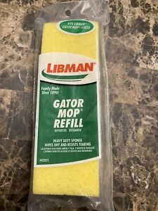 Libman Gator Mop Cellulose 🧽 Sponge  Refill #02021 Made in the USA 🇺🇸
