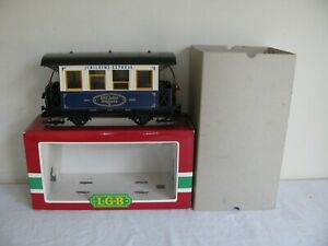 LGB Trains Jubilaums Express 102 Year Anniversary Passenger Car Lighted #1983 EX