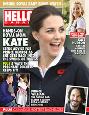 Hello Canada Exclusive Magazine Royal Mom Kate 2017 Nov #581 Baby Bump Watch New