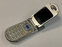 LG Model VX3200 Slate Blue/Silver Verizon Wireless Flip Cell Phone *Tested*