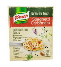 6x Knorr Fix 100% natural 🍴 Spaghetti Carbonara 🍲 spice mix ✈ TRACKED SHIPPING