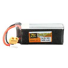 ZOP Power 14.8V 1400mAh 65C 4S Lipo Battery XT60 Plug
