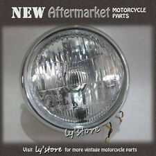 [125.Y4] YAMAHA RD125 YAS3 AS3 YAS2 AS2 LS2 LS3 YLS3 HEAD LAMP 12V + CASE 6""