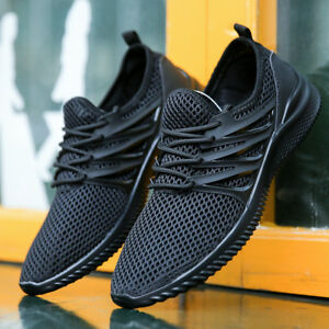 Men Shoes Running Sneakers  Light Outdoor Breathable Sport Shoes Big Size