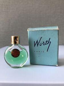 Worth Je Reviens Miniature de parfum de collection.