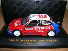 IXO Citroen Xsara WRC Rally Turkey 2005, C. SAINZ - M.Marti , 1:43 #2 Rallye