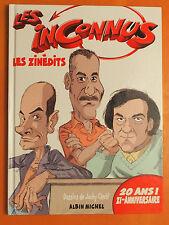 Les Inconnus -Les Zinèdits -Dessins de Jacky Clech' -Albin Michel