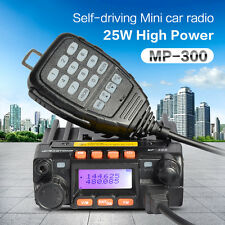 MP300 Long Range Car Walkie Talkie FM Transceiver  Moblie Ham Radio Transimitter