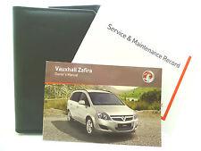 OPEL ZAFIRA B MANUTENZIONE LIBRO MANUALE & Portafoglio Pack - 2007 TO 2010 NUOVO