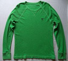 Mens AMERICAN EAGLE  LS shirt  jersey sz L school college fishing hiking NWOT