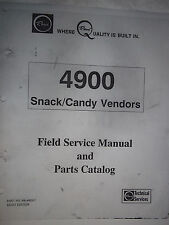 Rowe 4900 S & Jr Snack Field Service Manual MultiBoard