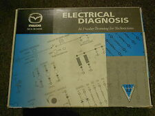 1999 Mazda Electrical Diagnosis Service Repair Shop FACTORY CD VHS Video Set
