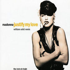 Madonna Justify My Love 2 mixes German CD