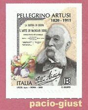Italia 2020  PELLEGRINO ARTUSI  Francobollo singolo