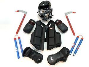 ATA Taekwondo Karate Martial Arts Sparring Gear Equipment Weapon Lot Kids Youth