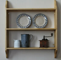 Victorian wooden shelves painted or natural wood traditional wall shelf