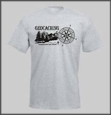 Sanctuaires edge geo cache t shirt drôle humour homme lads geocaching cache