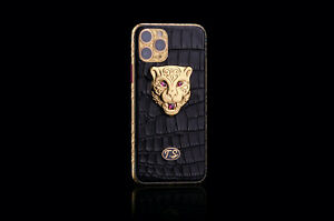 Apple iPhone 11 Pro 512GB  24K Goldplated Rubie Leopard Edition