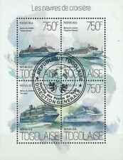 Timbres Bateaux Togo 3613/6 o année 2013 lot 19330 - cote : 17 €
