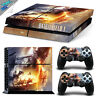 Playstation 4 PS4 Skin Decal Wrap Sticker CONSOLE + CONTROLLERS