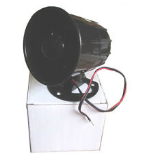 "Mobilistics Mini 3.5"" Single Tone Car Alarm Siren 20 Watt"