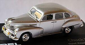 Opel Captain ´51 1951-53 Silver Metallic 1:43 Designer Series Chuck Jordan