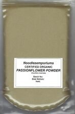 Passionflower Passion Flower Powder Organic 50g Non GMO, Pesticide/Chemical Free