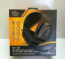 Gioteck Ex-05 Military Style Wired Headset Headphones for PlayStation 3 Ps3