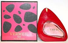 Vermeil Red for Women by Jean Louis Vermeil Edp Spray 3.4/3.3oz  New In Box