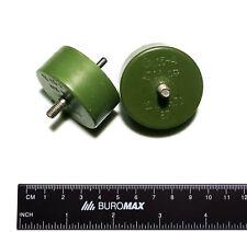 K15-4 4700pF 12kV high voltage doorknob capacitors. Lot of 2 pcs.