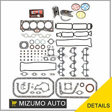 Fit 85-87 Toyota Corolla MR2 1.6 4AGEC 4AGELC Full Gasket Set Bearings Rings